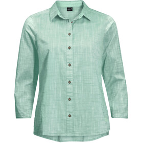 Jack Wolfskin Emerald Lake T-shirt à manches longues Femme, light jade